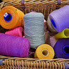 Yarn Basket at Paisley Thread Mill Museum in Paisley - 5 July 2014