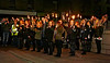 Local Schoolchildren Join in the Torchlit Procession - 11 October 2013
