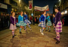 Scottish Country Dancers Entertain at the Torchlit Procession for the MOD in Paisley - 11 October 2013