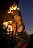 Ariel Killick - 'Fire Stilt Walker' at MOD Procession in Paisley - 11 October 2013