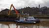 Dredging Operations in the River Cart - 2 March 2014