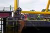 A Tight Squeeze at the Inchinnan Bascule Bridge - 31 August 2013
