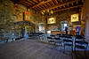 The Great Hall in Rothesay Castle - 28 September 2013