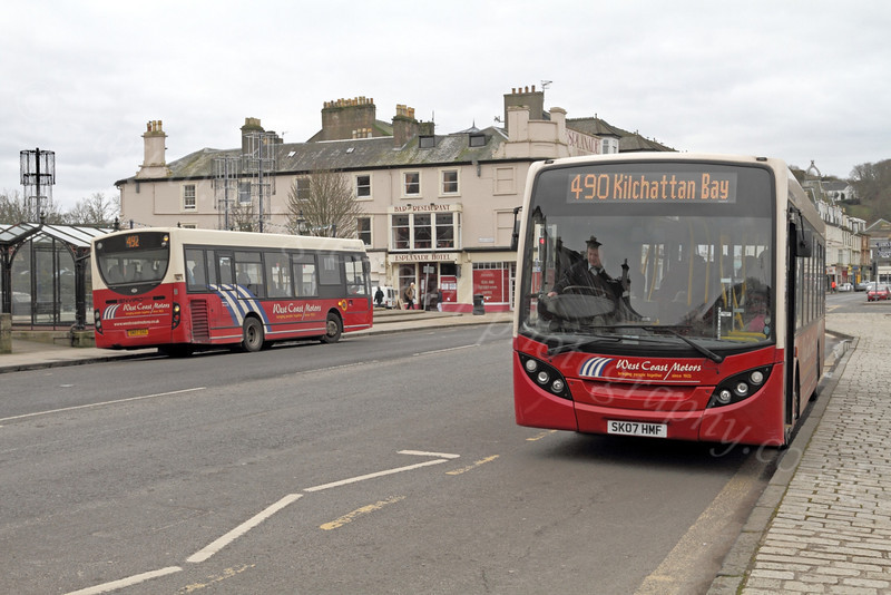 Rothesay Buses - 13 March 2012