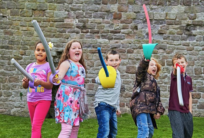 Viking Event - Rothesay Castle - 28 September 2013