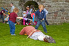 Kids Join in at the Viking Event in Rothesay Castle - 28 September 2013