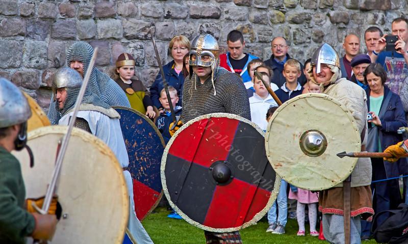 Viking Battle at Rothesay Castle - 28 September 2013