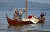 Viking Longboat Landing at Rothesay - 28 September 2013