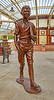 Holiday Boy 'Bobby' Statue at Wemyss Bay Station - 7 June 2017