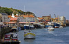Busy Whitby Harbour