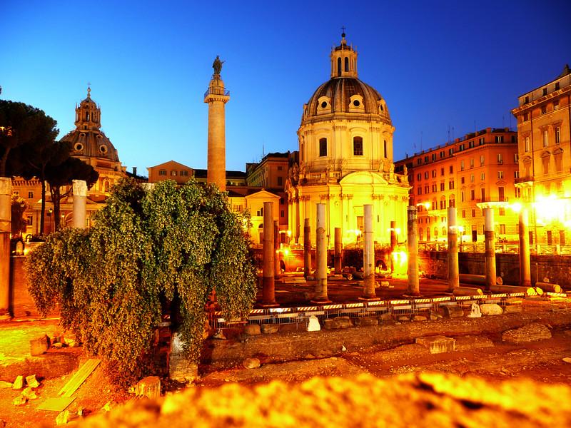 Roman Ruins (Rome, Italy)