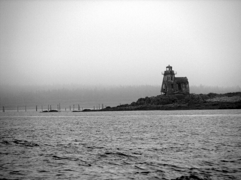 Forgotten Past<br /> Grand Harbour Light,  Ross Island, NB<br /> <br /> This piece of history stands today, as one of North America's oldest unrestored lighthouses.