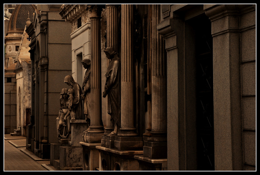 City of the Dead - Recoleta Cemetery - Buenos Aires, Argentina
