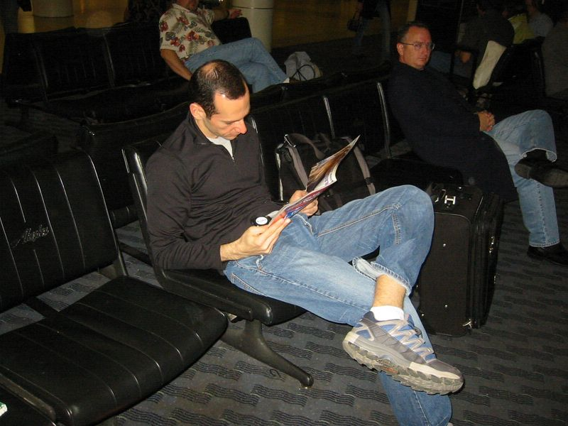 Ted and I were on the same red-eye flight from Seattle to Miami
