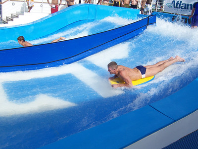Don on the Flowrider