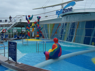 The waterpark, soon to be infested with bears