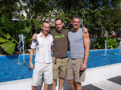 Ted with Joe and Don at Lincoln Road