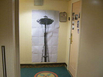 A little piece of Seattle in our hallway
