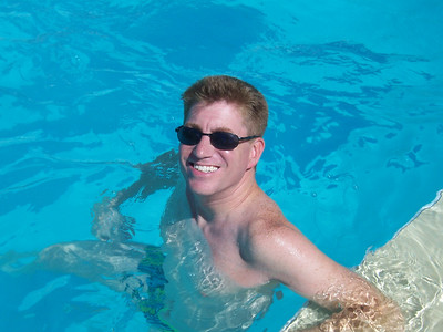 Me in the pool