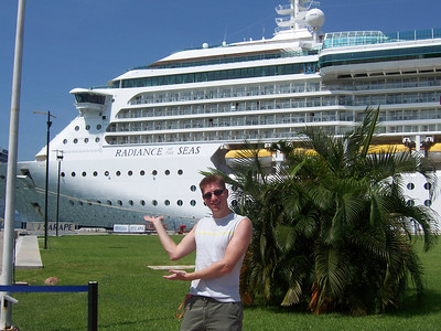 Me with the ship