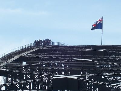 Other People on the bridge climb