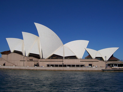 The Opera House from a Sydney Ferry