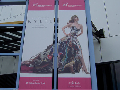 I went to the Kylie museum