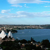 Sydney harbour viewed from the Marriott