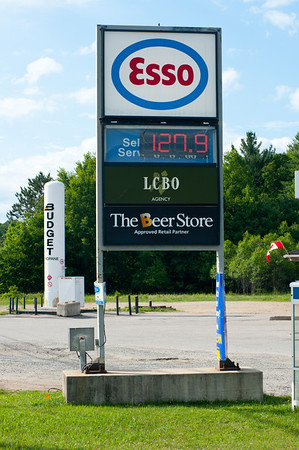 For those in the USA $1.279 / liter = $4.847 / gallon. The LCBO is where you buy your booze and the Beer Store is where Canadians gather to exchange their empties for cold ones.