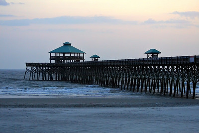 Pier at Folly Beach, SC