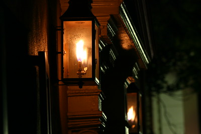 Gas Light at Charleston, SC