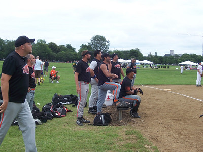 Hot softball players