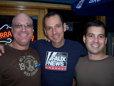 Ted with Steven and Anthony.  Anthony is very cute when he smiles.  He doesn't smile enough.
