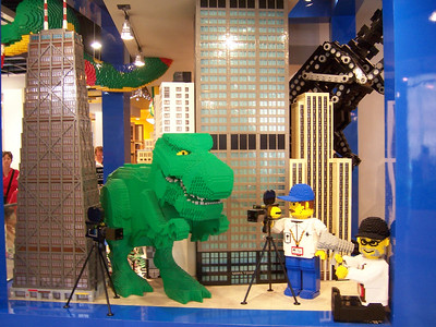 I had to find the Lego store
