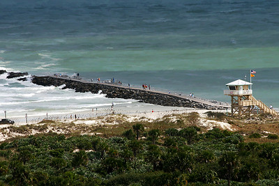 The Jetty at Ponce Island Inlet, FL