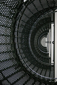 Inside stairs, St Augustine Lighthouse, Florida  http://www.staugustinelighthouse.com/