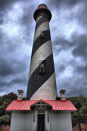 St Augustine Lighthouse.  http://www.staugustinelighthouse.com/