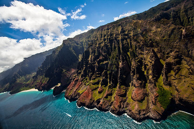 The awe inspiring NaPali Coast.