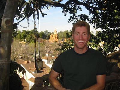 Here's me in the Tarzan Treehouse