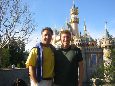 Gary and me.  Gary spent the afternoon with me at Disneyland since he has an annual pass.