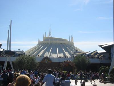 Space Mountain is back.