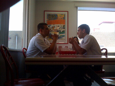 Mormons eat In N Out too.
