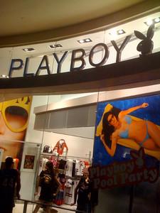 Playboy Store.  No Bridget this weekend.