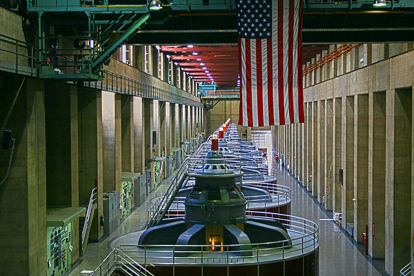 Inside the Hoover Dam Power Generators,  NV  http://www.usbr.gov/lc/hooverdam/