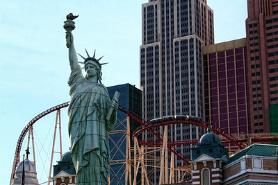 New York City skyline in Las Vegas
