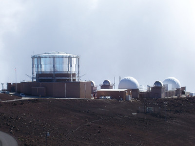 There is a series of telescopes up there called Science City.  They are not open to the public.