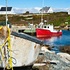 Fishing Boat in Peggys Cove