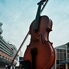 Fiddle at the Sydney dock