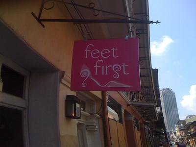 Feet First!