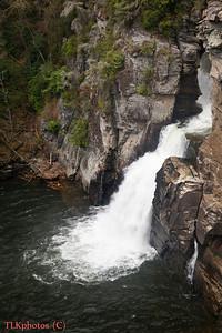 Linville Falls April 2011